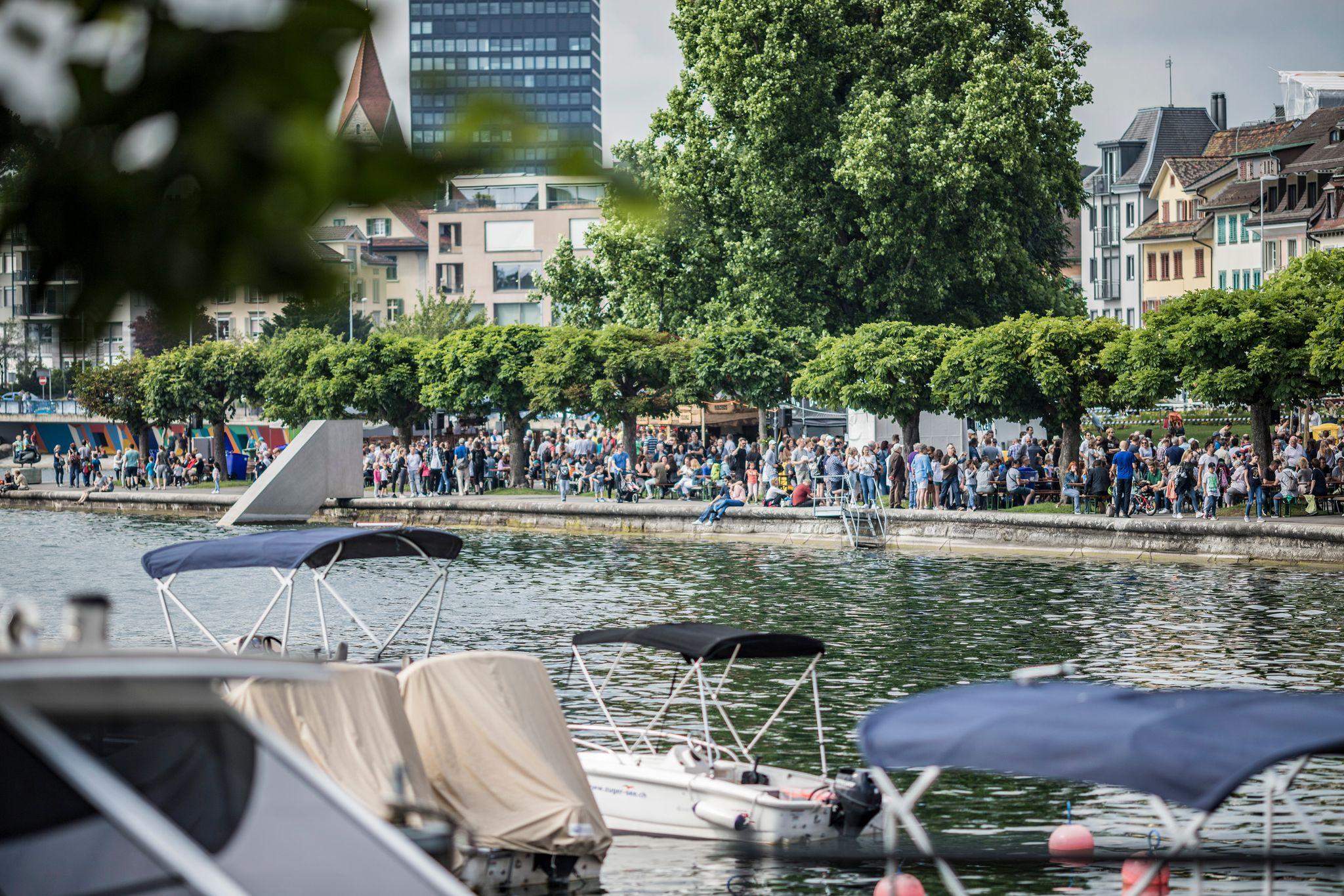 Seepromenade Zuger SEEfest